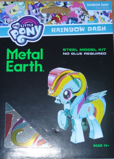 Rainbow Dash My Little Pony Metal Earth