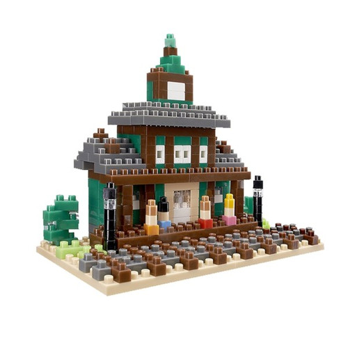 Train Station TICO Mini Building Bricks
