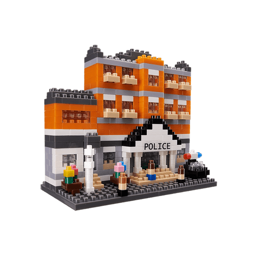Police Office TICO Mini Building Bricks