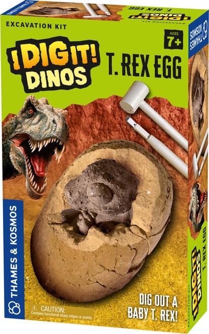 T. Rex Egg I Dig It! Dinos Excavation Kit
