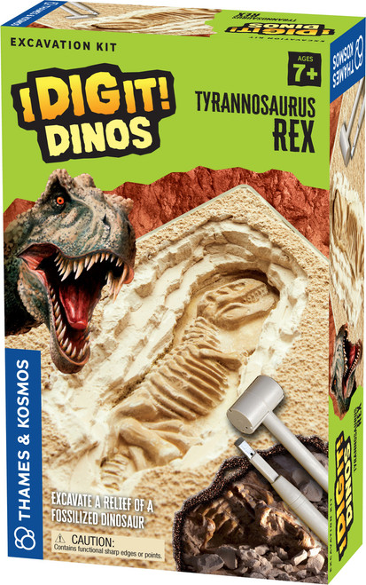 Real Fossils I Dig It! Fossils Excavation Kit - Corner Pockets