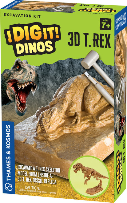 3D T. Rex I Dig It! Dinos Excavation Kit