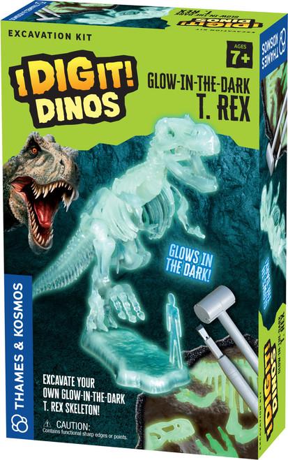 Glow-In-The-Dark T. Rex I Dig It! Dinos Excavation Kit