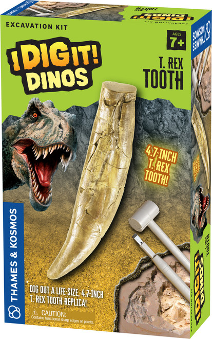 T. Rex Tooth I Dig It! Dinos Excavation Kit