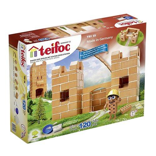 Small Castle Starter Teifoc Brick & Mortar  Building Kit