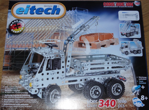 Truck With Crane Construction Set Eitech