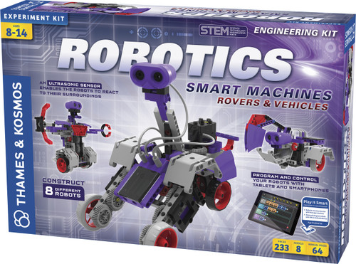 Robotics Smart Machines Rovers & Vehicles Experiment Kit