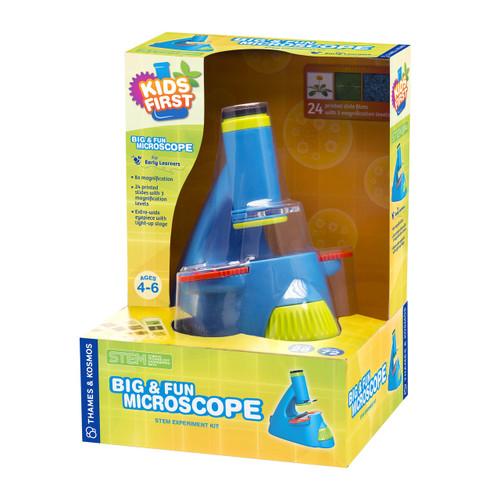 Kids First Big & Fun Microscope STEM Experiment Kit