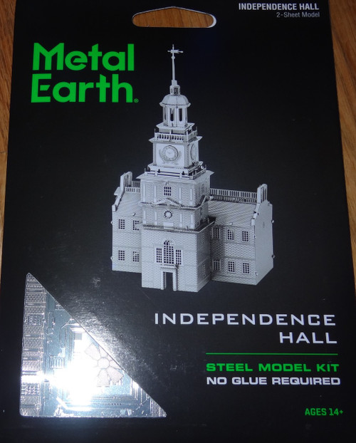 Independence Hall Metal Earth