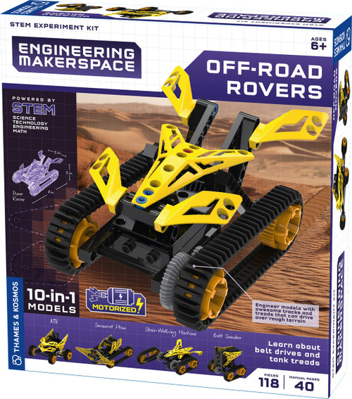 Off-Road Rovers Engineering Makerspace Kit