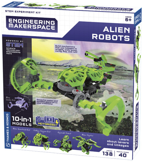 Alien Robots Engineering Makerspace Kit