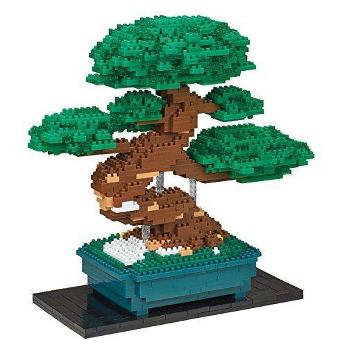 Bonsai Pine Deluxe Edition Nanoblock