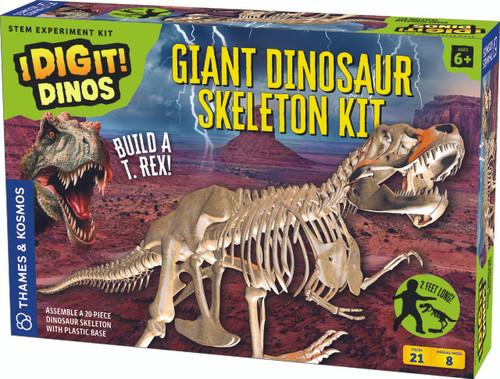 Giant Dinosaur Skeleton Kit I Dig It! Dinos Excavation Kit