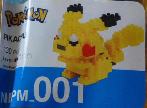 Pikachu Pokemon Nanoblock