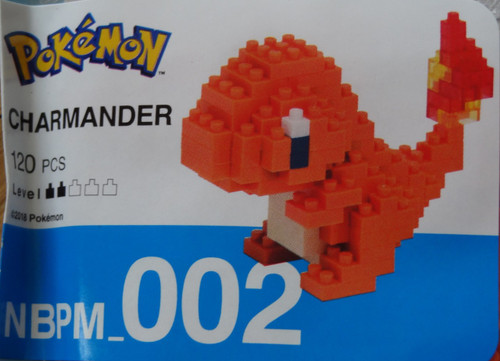 Charmander Pokemon Nanoblock