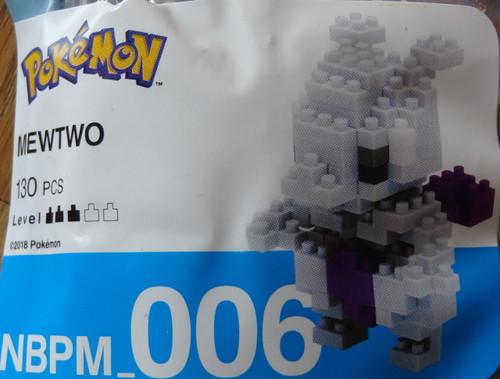 Mewtwo Pokemon Nanoblock