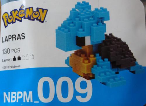 Lapras Pokemon Nanoblock