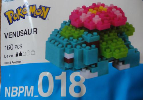 Venusaur Pokemon Nanoblock