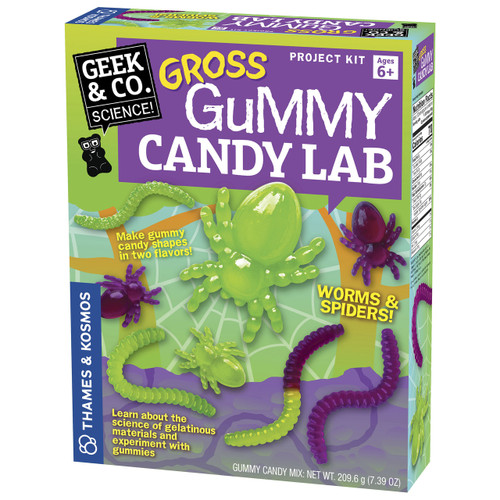 Gross Gummy Candy Lab Science Project Kit