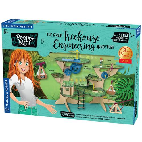 Pepper Mint Treehouse Engineering Adventure