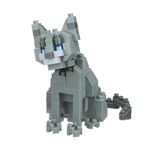 Russian Blue Cat Nanoblock