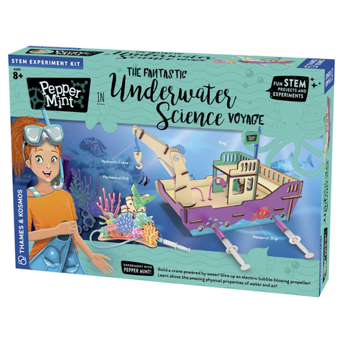Pepper Mint The Fantastic Underwater Science Voyage