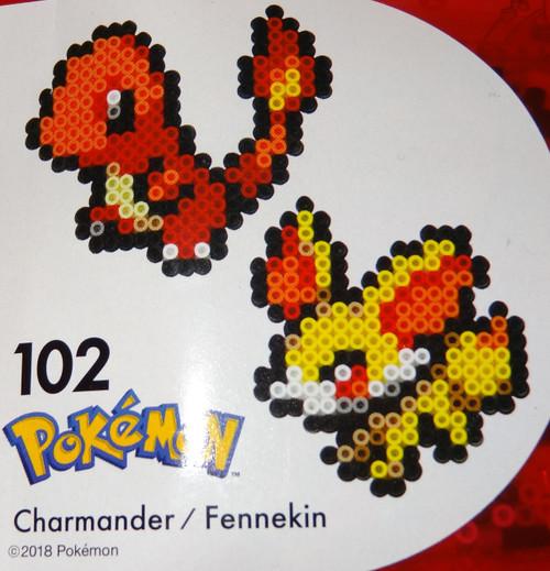 Charmander/Fennekin Pokemon NanoBeads