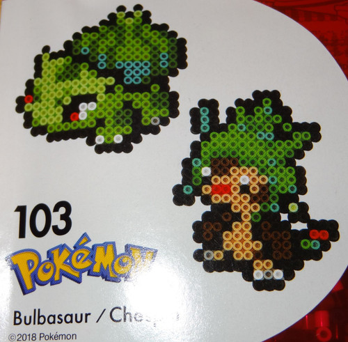 Bulbasaur/Chespin Pokemon NanoBeads