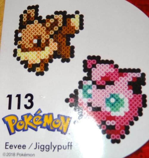 Eevee/Jigglypuff Pokemon NanoBeads