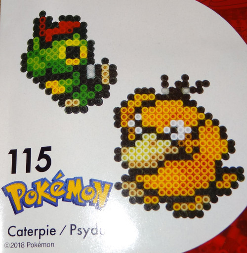 Caterpie/Psyduck Pokemon NanoBeads