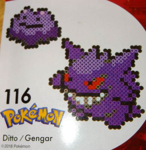Ditto/Gengar Pokemon NanoBeads