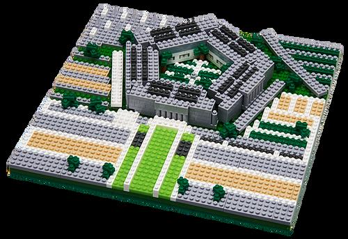 The Pentagon TICO Mini Building Bricks