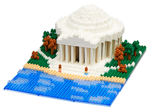 Jefferson Memorial TICO Mini Building Bricks