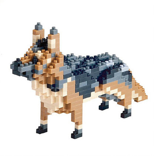 German Shepherd TICO Mini Building Bricks