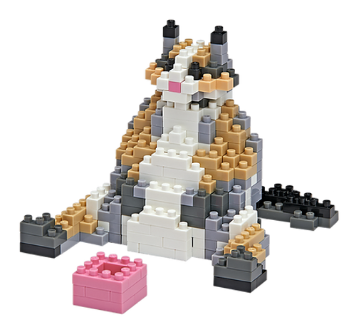Waffles Cat TICO Mini Building Bricks
