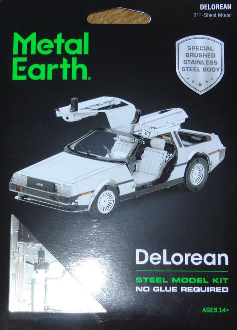 DeLorean Metal Earth