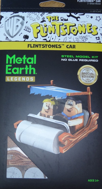 Flinstones Car Metal Earth