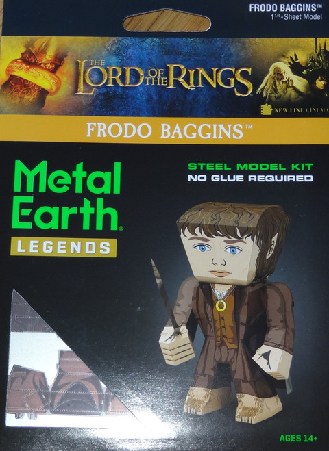 Frodo Baggins Metal Earth Legends