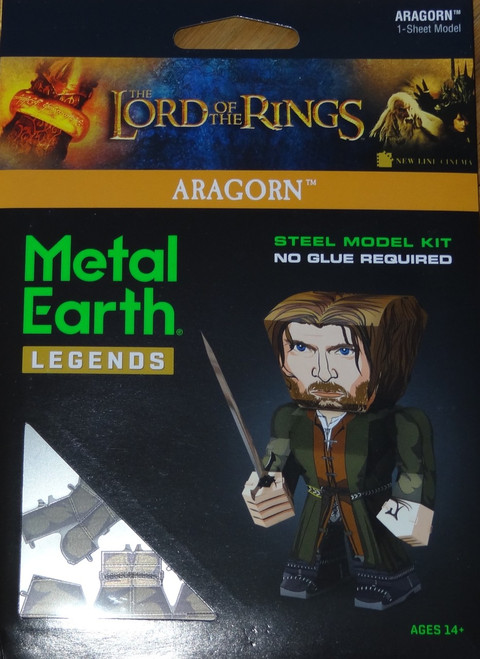 Aragorn Metal Earth Legends