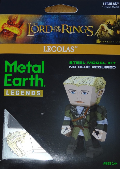 Legolas Metal Earth Legends