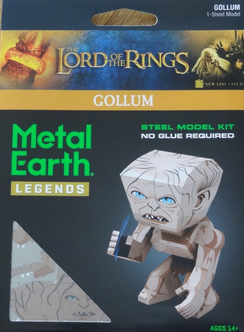 Gollum Metal Earth Legends