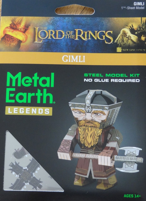 Gimli Metal Earth Legends