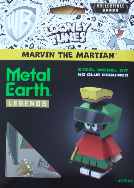 Marvin The Martian Metal Earth Legends