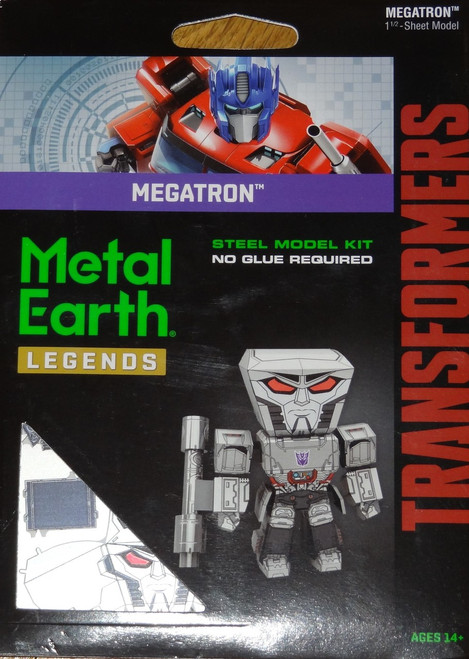 Megatron Metal Earth Legends