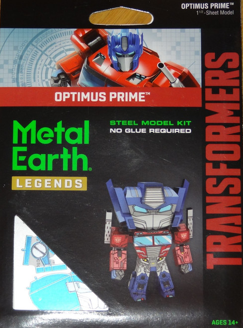 Optimus Prime Metal Earth Legends