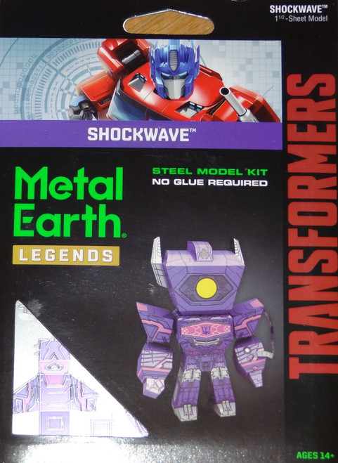 Shockwave Metal Earth Legends