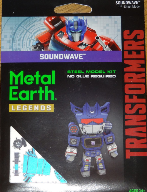 Soundwave Metal Earth Legends