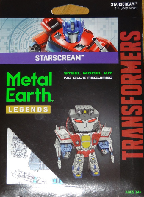 Starscream Metal Earth Legends