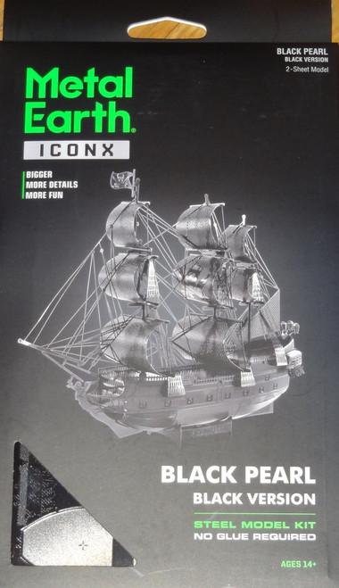 Black Pearl (Black Version) ICONX 3D Metal Model Kit