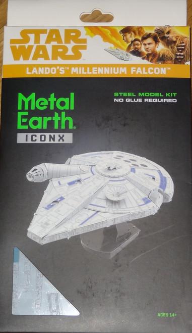 Lando's Millennium Falcon Star Wars ICONX 3D Metal Model Kit